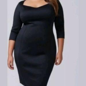 Lane Bryant 22/24 Sexy Black Bodycon Dress